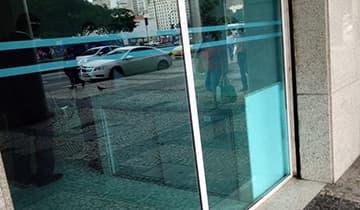 Insulfilm Azul Espelhado Natural