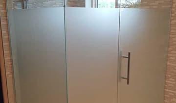 Insulfilm Jateado para Box de Banheiro